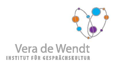 Das Logo von 'Vera de Wendt - Institut für Gesprächskultur'
